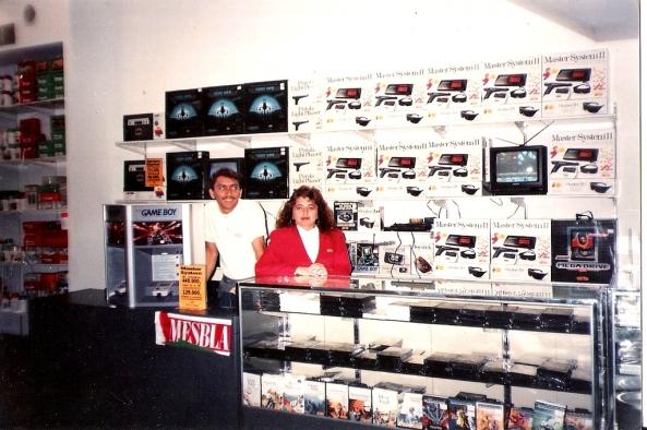 Loja da Mesbla em 1991: recheada de Masters e Megas