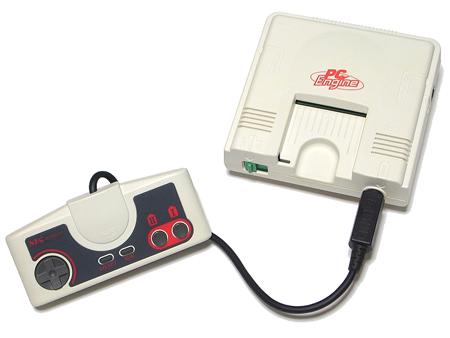PC Engine, 1º console da 4ª geração (1987)