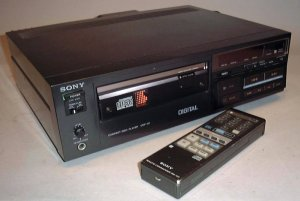 CD Player da Sony de 1983