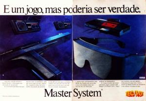Master System: É um jogo, mas poderia ser verdade