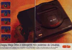 Mega Drive: o videogame mais poderoso do Universo