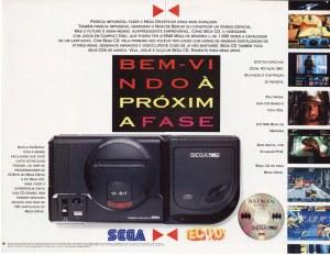 Propaganda brasileira do SEGA CD