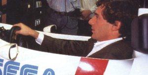 Ayrton Senna jogando Super Monaco GP (Arcade)