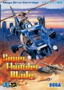Caixa japonesa de Super Thunder Blade (SEGA, 1988)
